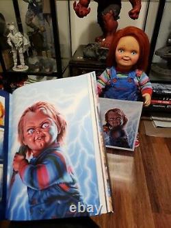 Chucky Child's Play 11x14 Original Print # 64 of 100 by Jason Edmiston Mondo