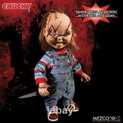 Chucky Child's Play 15-Inch Mega Figure with Sound DAMAGED BOX