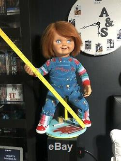 Chucky Childs Play 2 display Stand. Made By Commission. DOLL NOT INCLUDED