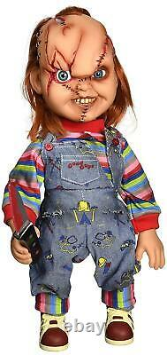 Chucky Childs Play Talking Dolls Figures Tiffany Movie Props Scary Collectible