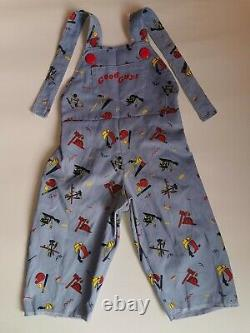 Chucky Clothes (Overal, Peto) Child's Play Chucky doll 11 life size prop