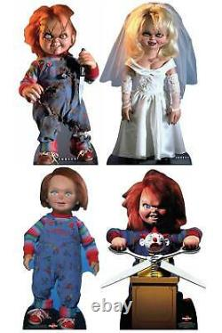 Chucky Collection Official Cardboard Cutout Set of 4 Child's Play Horror