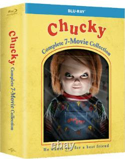 Chucky Complete 7 Movie Collection Childs Play 1,2,3,4,5,6,7 Blu Ray Set New