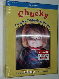 Chucky Complete Collection (1,2,3,4,5,6,7) Child's Play Blu-ray Box Set SEALED