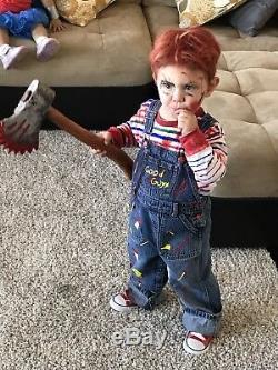 Chucky Costume Toddler Good Guys Horror 12m Childs Play shortall