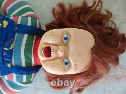 Chucky Doll 19' Childs Play 2 Toy Works with tags RARE