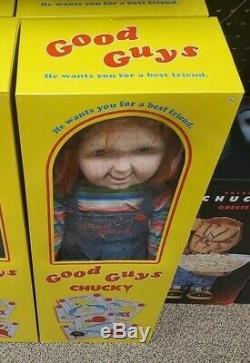 Chucky Doll 30 Inch Good Guys Spirit Halloween NEW In Box Childs Play 2