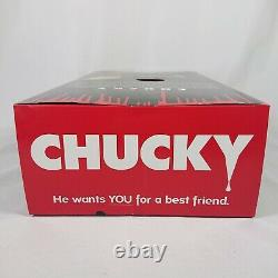 Chucky Doll Bride Of Chucky Child's Play 15 Mezco Talking Mega Scale with Sound