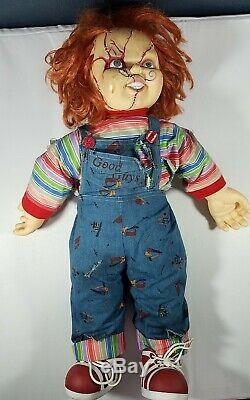 Chucky Doll Halloween Childs Play Scarred Face 24 Inches Bride Life Size