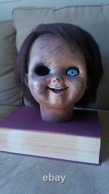 Chucky Doll Head Childs Play Prop Lifesize Good Guy Accurate