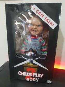Chucky Doll Talking Child's Play 2 Menacing 15 Mezco Mega Scale Damaged Box