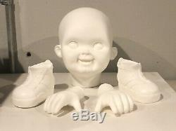 Chucky Good Guy Lifesize Head/Hands/Shoes Raw Castings Child's Play Prop Doll