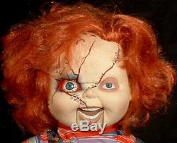 Chucky Horror Doll Ventriloquist Dummy puppet figure OOAK Childs play Halloween