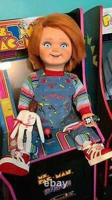 Chucky Life Size Talking Good Guy Doll With Child's Play Yellow Display Box