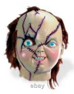 Chucky Mask Bride of Deluxe Costume Child's Play Vintage Collectible Mint Rare