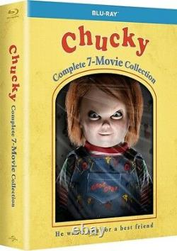 Chucky The Complete 7 Movie Collection Child's Play Reg B Blu-ray