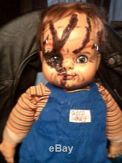Chucky Tiffany Glen Childs Play Seed Of Chucky Doll Lot Zombie Prop Halloween