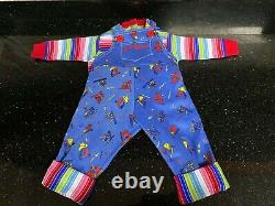 Chucky sweater and overalls Childs Play 2 (1990) outfit replica