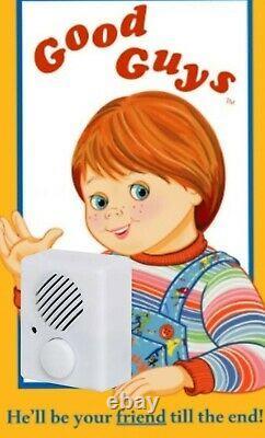 Custom Chucky Voice Box Child's Play Good Guys Doll