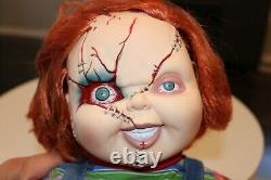 Ed Gale Signed 24 Chucky Doll CHILDS PLAY Autographed