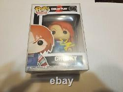 Ed Gale Signed/Autographed Child's Play 2 Chucky Funko Pop BAM BOX COA with Case