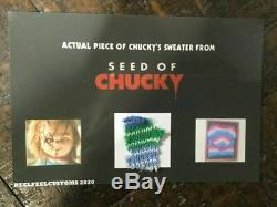 Extremely Rare! Child's Play Seed of Chucky Piece Sweater Screen Used Movie Prop