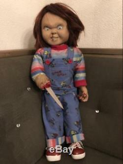 Extremely Rare! Childs Play 2 Lifesize Chucky Tenoch Art Silicone Bloody Version