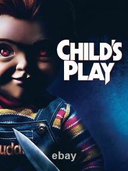 Extremely Rare! Childs Play Chucky Original Screen Used Zed Mart Toy Movie Prop