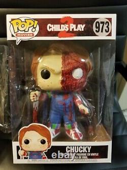 Funko Pop Chucky 10 Inch Pop Vinyl Figure Childs Play (CUSTOM) version