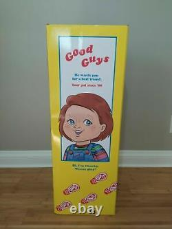 GOOD GUYS Childs Play 2 Chucky Doll 30(OFFICIALLY LICENSED) In Hand