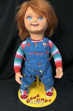 GOOD GUYS STAND Custom Made For Trick Or Treat Studios CHUCKY Childs Play Doll