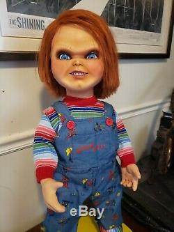Good Guy Doll Child's Play Angry Chucky Life Size Head