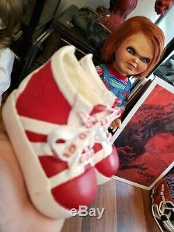 Good Guy Doll Child's Play Chucky Pair of Shoes with Laces