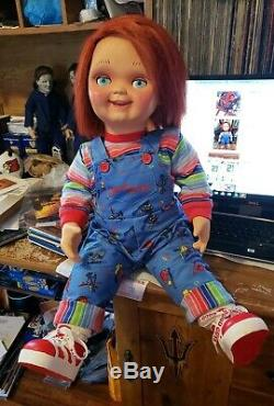 Good Guy Doll Child's Play Talking Chucky Life Size 30 Inch Tall with Extras