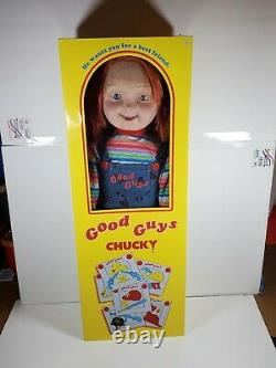 Good Guys Life Size Childs Play Chucky Doll New Spirit Halloween New 30