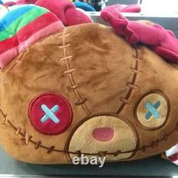 HELLO KITTY CHUCKY CHILD'S PLAY Reversible Cushion Sanrio 2019 UNIVERSAL STUDIOS