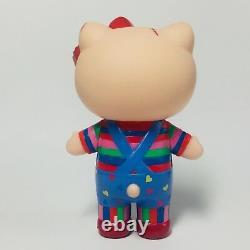HELLO KITTY x CHUCKY 3.5 Mini Figure CHILD'S PLAY Sanrio 2015 UNIVERSAL STUDIOS