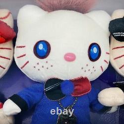 HELLO KITTY x CHUCKY TIFFANY GLEN Plush Set 2019 UNIVERSAL STUDIOS Child's Play