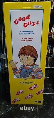 HUGE Chucky Doll 30in Good Guys Spirit Halloween Collectible Memorabilia NEW