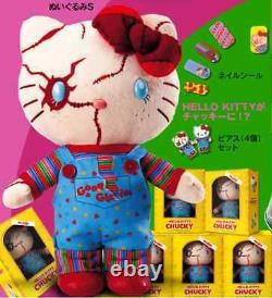 Hello Kitty x Chucky Childs play plush doll 2015 USJ official limited edition