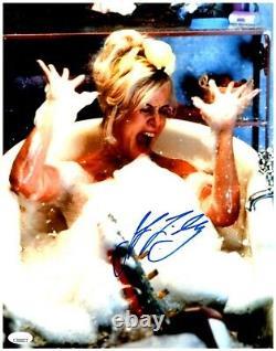 JENNIFER TILLY signed 11x14 Photo Bride of Chucky Tiffany Doll Childs Play JSA