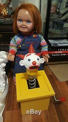 Jack in the Box Prop for Chucky Good Guy Doll Child's Play 2 Movie RARE & REAL