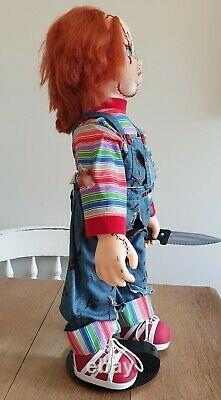 Lifesize Chucky Doll Bride Of Chucky 11 Figure Child's Play Motion Sound 1998