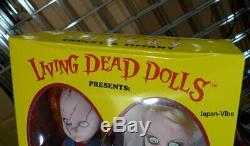 Living Dead Dolls Bride of Chucky & Tiffany Set 2-pack Mezco Child's Play New