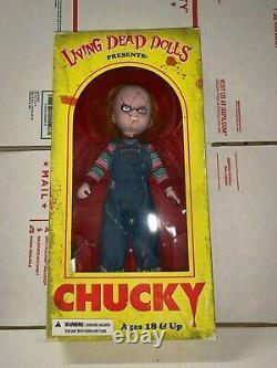 Living Dead Dolls Chucky Child's Play! New Mib