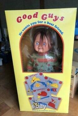 MEDICOM TOY Child's Play 2 Chucky Life Size 1/1 Good Guys Doll Prop Size Limited