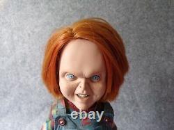 McFarlane Toys Child's Play Chucky Doll 12 Action Figure, Horror Memorabilia