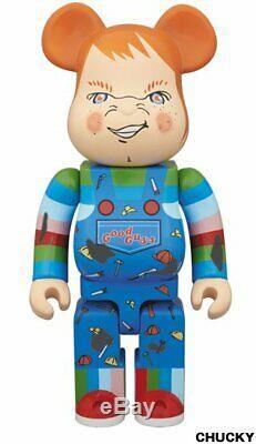 Medicom Bearbrick 400% Child's Play Chucky Be@rbrick