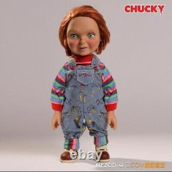 Mezco Child's Play Good Guy Chucky 15 Inch Talking Doll Brand New and In Stock