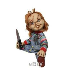Mezco Child's Play Mega Scale Talking Chucky 15 Inch Doll New and In Stock